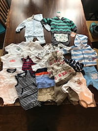 3 month baby boy clothing