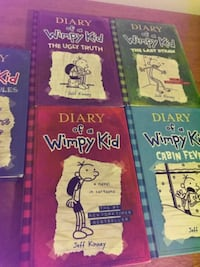 Diary of the Wimpy kid books COLORADOSPRINGS