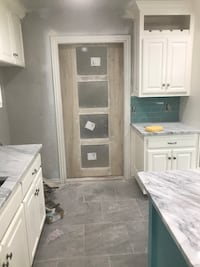 Custom build barn doors kitchens or bathrooms.  All other home improvements