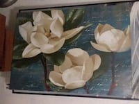 white and brown flower painting Cleveland, 37311