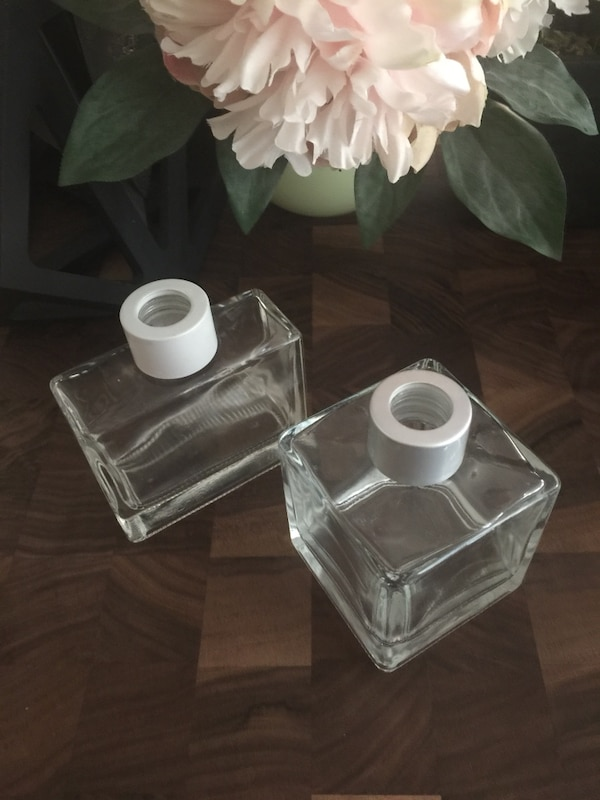 Pottery Barn Essential Oil Diffuser Glass Bottles