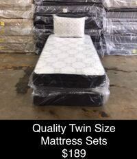 Twin Size Mattress Sets (New) Same Day Delivery & Financing Available  Atlanta, 30318