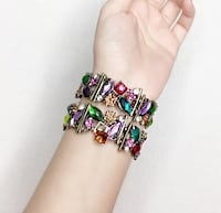 Artificial Gemstone Bracelets 3729 km