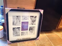 """New """" our wedding """" 7- opening photo collage picture frame Fort Mill, 29707"""