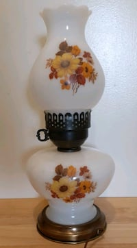 Floral Table Lamp & Night Light