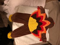 Turkey outfit size 12 months for a boy or a girl Tampa, 33604