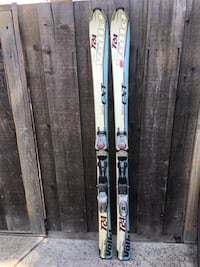 Volkl 7 24 Gamma EXT Womens 156 Skis w/Marker Motion LT Gamma Bindings San Jose, 95111