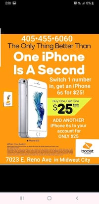 iPhone 6s ONLY $25!!!