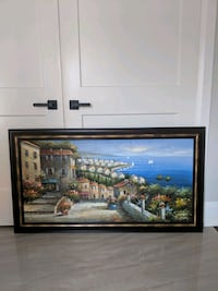 Wall art --   painting of Italian view Mississauga, L5N 5X4