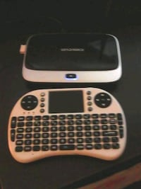 Android box with keyboard