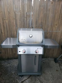 Weber stainless steel Natural Gas grill