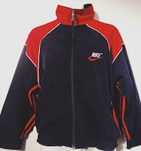 Retro Nike navy and red windbreaker  Richmond, V7E 4L1