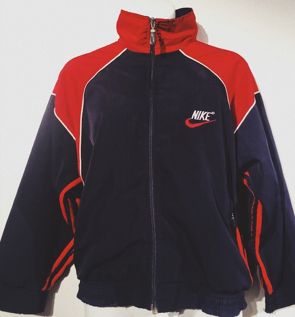 fe1dc4cfc008bd Used Retro Nike navy and red windbreaker for sale in Richmond - letgo