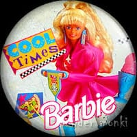 Chapas Barbie vingate 90's MADRID