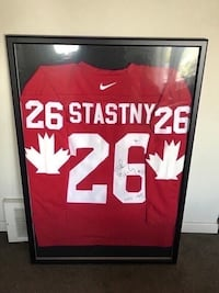 Peter Stastny signed and framed team canada jersey  Châteauguay, J6K 2M7