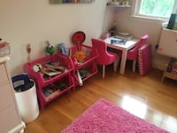 Pink room decor   Chevy Chase, 20815