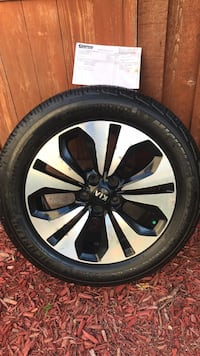 Kia Sportage - set of 4 all season 18 inch tires, complete with rims - I also have a set of roof racks for free with the purchase of the tires