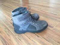 pair of black leather work boots Richmond Hill, L4S 1H5
