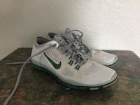 Pair of white nike running shoes North Port, 34291