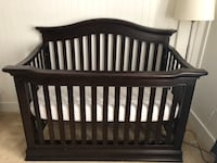 Baby Caché convertible solid wood crib. $429 new on Amazon. Mattress included. No pets home. Can deliver if close by. Herndon, 20171