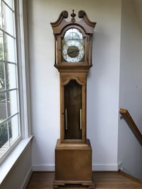 brown wooden grandfather's clock Silver Spring, 20902