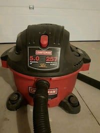 red and black Craftsman wet / dry vacuum cleaner Edmonton, T5V 1T7