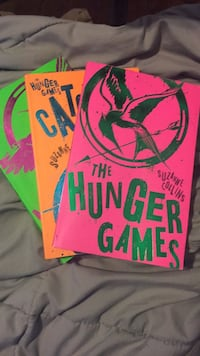 Collectors edition Hunger games books  Toronto, M8Z 1H6