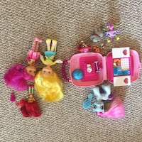 Girly age 5-8 assorted toys 3731 km