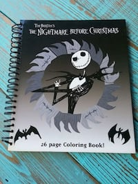 Hardcover The Nightmare Before Christmas Coloring  Fairfield, 94533