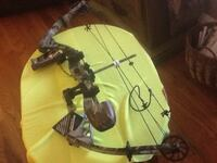 Camo compound bow by BowTech Allegany, 14706