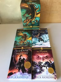 Percy Jackson Hereos of Olympus Box Set + House of Hades Calgary, T3H 5T6