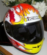 Limited Edition Motorcycle Helmet Icon WaR 2K2 London
