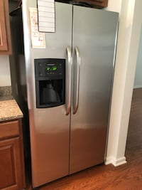 stainless steel side-by-side refrigerator North Charleston, 29418