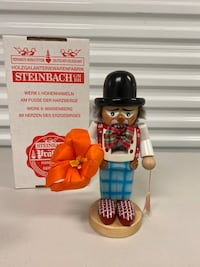 Vintage Steinbach Wooden Nutcracker - Chubby Clown - New with Box