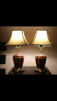 Pair of table lamps 2 ft by 7 in wide Cornelius, 28031