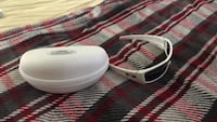 white framed sunglasses with case Ceres, 95307