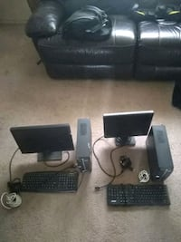 Computer and monitor with all cords Los Lunas