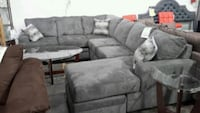 Sectional Sofa New with Pillows chenille soft fab Farmers Branch, 75234
