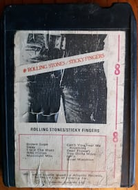 Rolling Stones Sticky Fingers 8 Track Tape Inwood