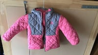 blue and pink zip-up bubble jacket Suffolk, 23435
