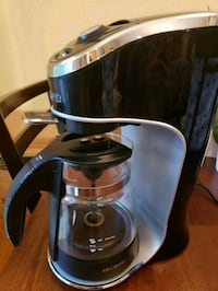 stainless steel and black coffee maker Point of Rocks, 21777