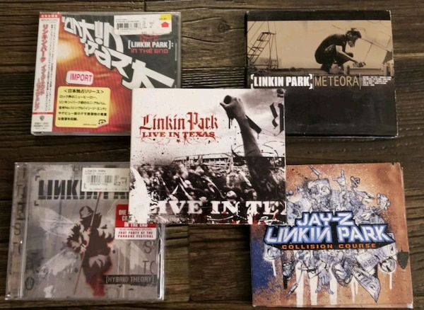 Linkin Park & The Used Rock Music CD DVD