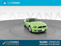 2013 Ford Mustang coupe V6 Coupe 2D Green Phoenix