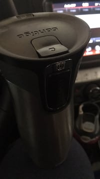 black and gray Keurig coffeemaker