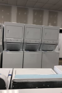 New scratch and dent  electric stackable washer and dryer  Bowie, 20715