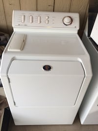 white front-load clothes dryer Colorado Springs, 80904