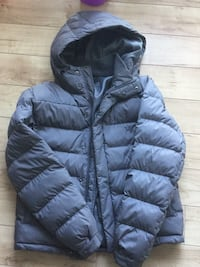 black zip-up bubble jacket Washington, 20002