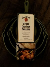 3-Piece: Jim Beam Cast Iron Skillet Set Brantford, N3S 5P5