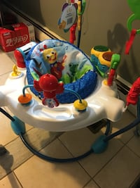 baby's white and blue jumperoo Woodbridge, 22193