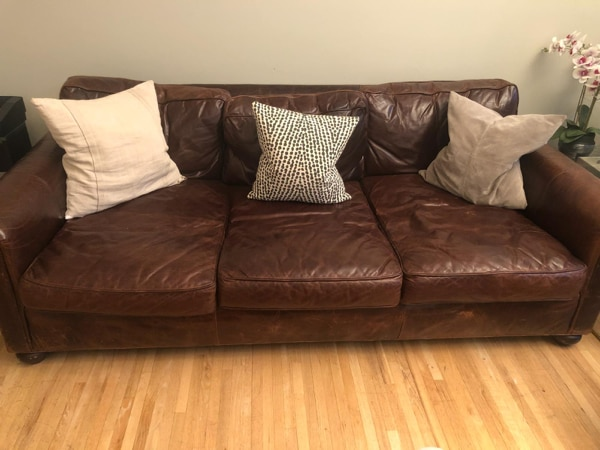 Used Restoration Hardware Lancaster Couch For Sale In Englewood Letgo